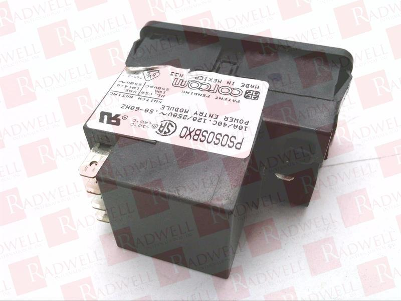 CORCOM PS0S0SBX0  POWER ENTRY MODULE SWITCH **NEW** 1 pieces
