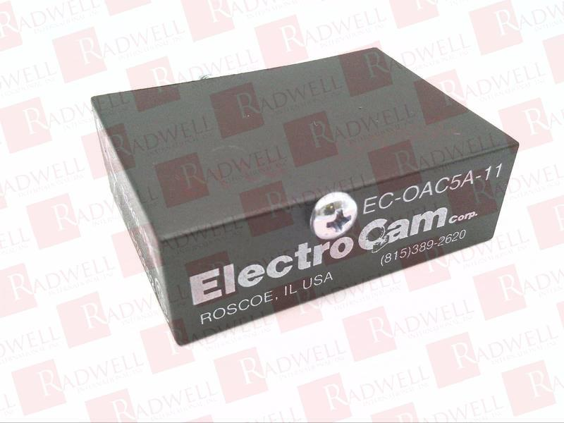 Lot of 2 Electro Cam EC-OAC5A-11 I//O Ouput Module Relay