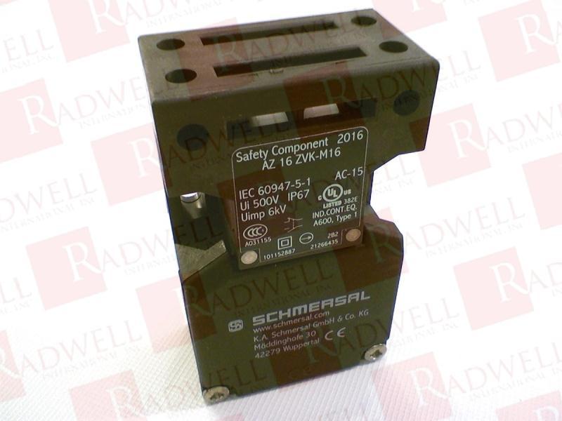 SCHMERSAL AZ-16-ZVK-M16