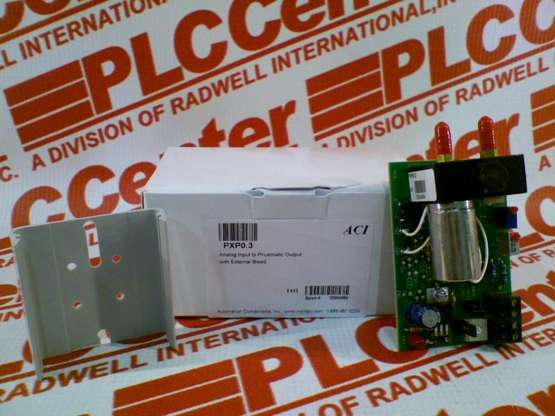 AUTOMATION COMPONENTS INC PXP0.3