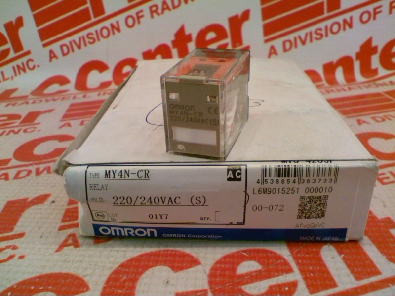 OMRON MY4N-CR-AC220/240-S 2