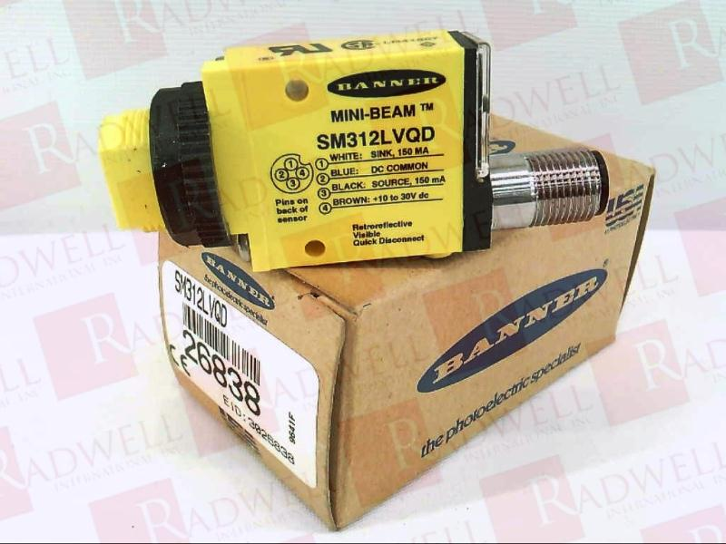 BANNER ENGINEERING SM312LVQD