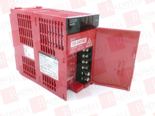 8.5 AMP 100-240 VAC Input MITSUBISHI Q64PN 160 VA 5 VDC Output Power Supply