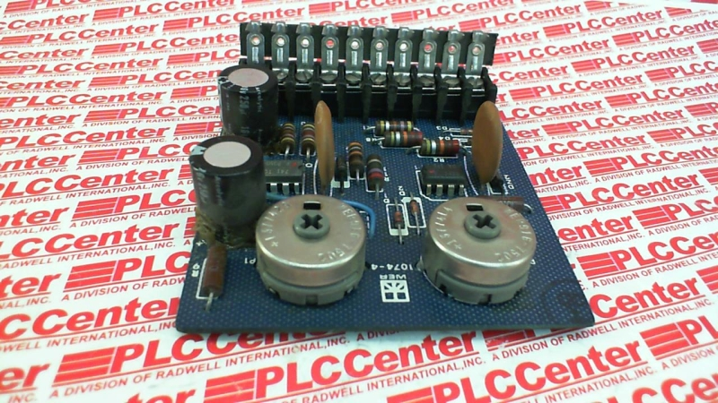 CONTROL TECHNIQUES 1074-4