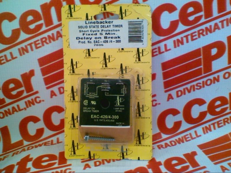 A 1 COMP CORPORATION EAC-426/4-300