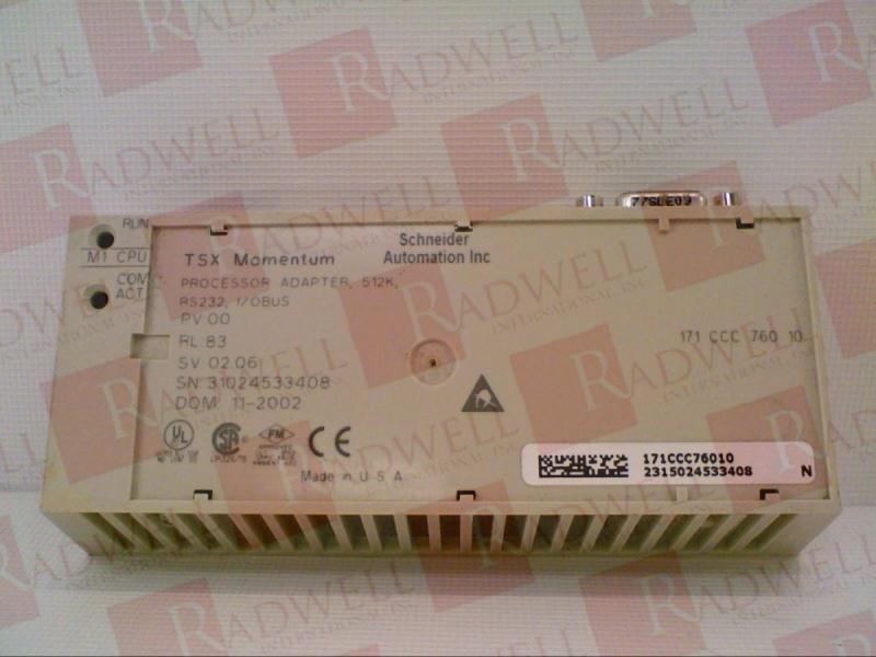 SCHNEIDER ELECTRIC 171-CCC-760-10 1