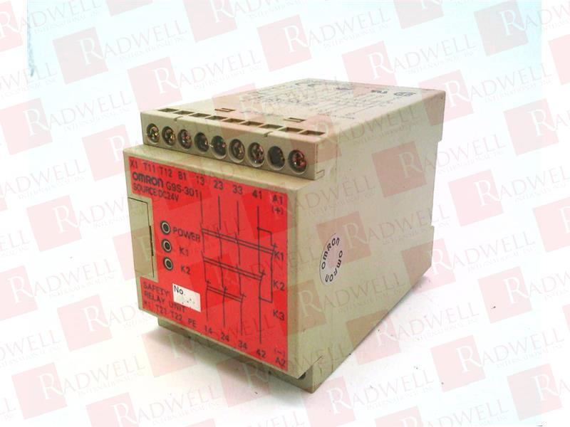 OMRON G9S-301-DC24