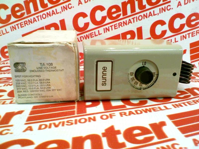 SUNNE CONTROLS TA108