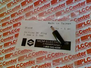 MCM ELECTRONICS 27-1110 0