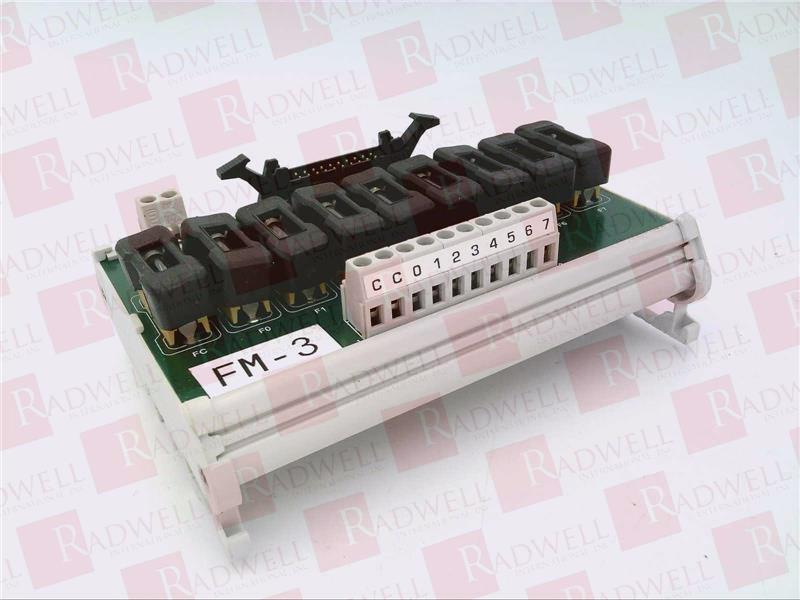 AUTOMATION DIRECT PLC DIRECT ZL-CM08TF I//O FUSED CONNECTOR MODULE 8PT 20P