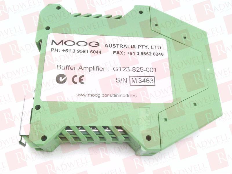 G123825001 by MOOG - Buy or Repair at Radwell - Radwell com