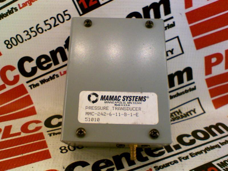 MAMAC SYSTEMS MMC-242-6-11-B-1-E