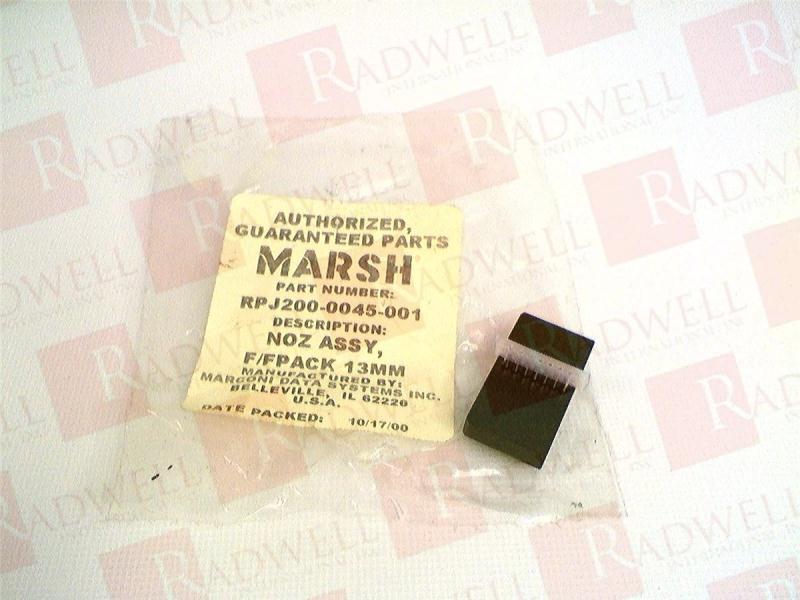 MARSH PATRION RPJ200-0045-001
