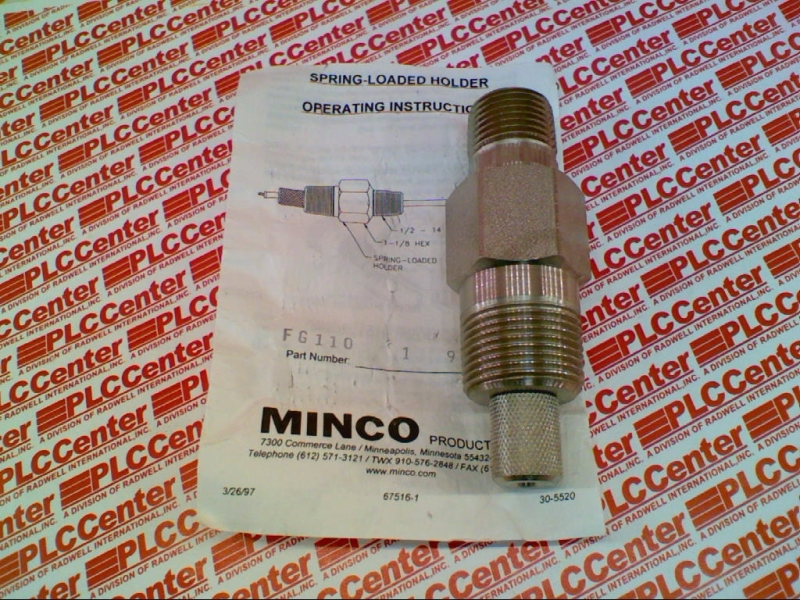 MINCO PRODUCTS FG110