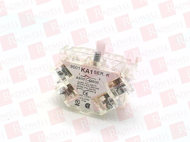 SCHNEIDER ELECTRIC 9001-KA1 0