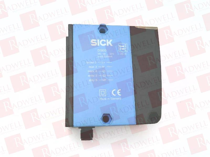 SICK OPTIC ELECTRONIC DS60-P11121 0