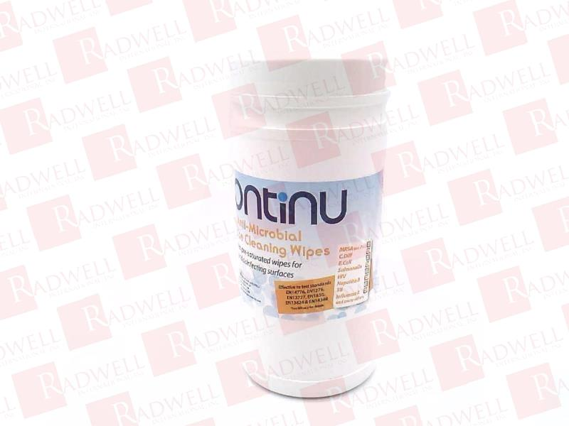 NUVIEW ANTI-MICROBIAL CLEANING WIPES - TUB OF 200