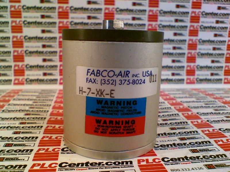 FABCO-AIR INC H-7-XK-E