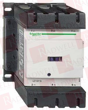SCHNEIDER ELECTRIC LC1D115P7 0