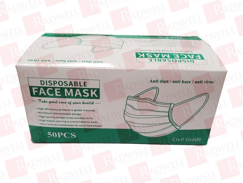HUBEI D376331-FACE MASK-50 PACK 0