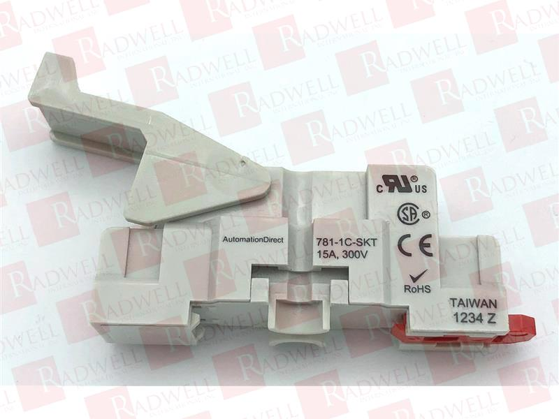 in Box Automation Direct 781-1C-SKT Relay Scoket Rail or Base Mount NEW!!