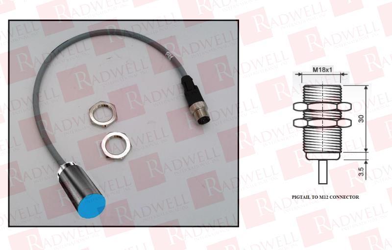 RADWELL VERIFIED SUBSTITUTE LED18-RYG-P-SUB