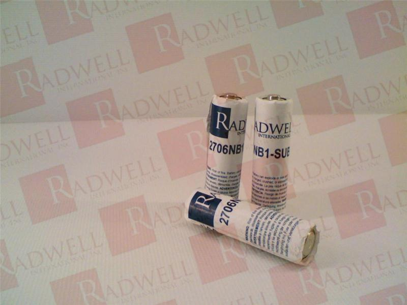 RADWELL VERIFIED SUBSTITUTE 2706-NB1-SUB