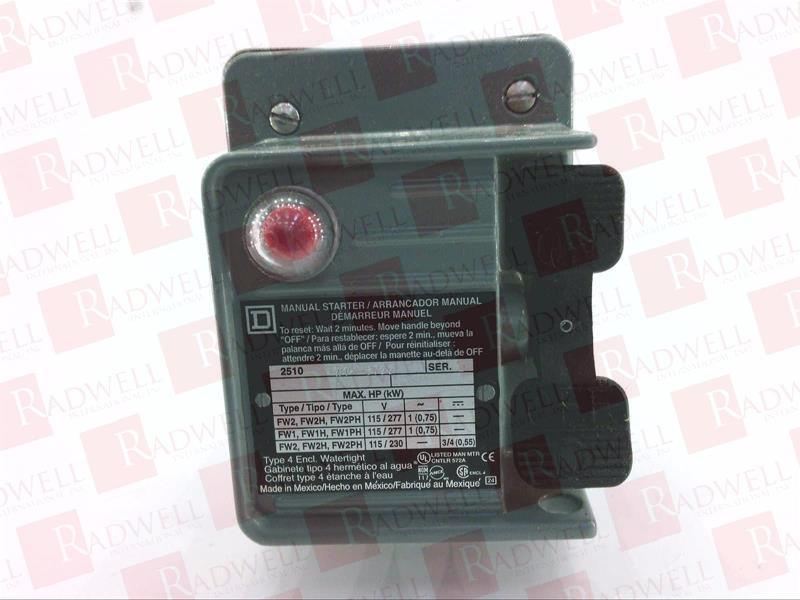 SCHNEIDER ELECTRIC 2510FW1P 0