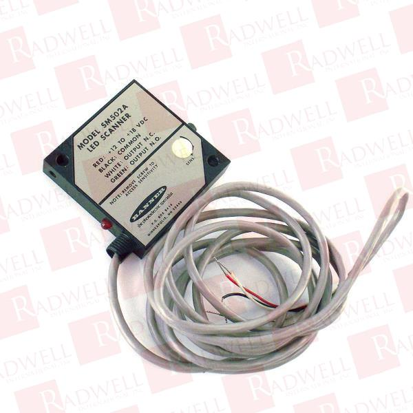 Banner SM502A Photoelectric 2m Range Visible Red 650NM Retro