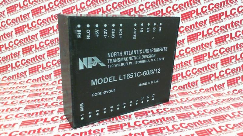 NORTH ATLANTIC INDUSTRIES L1651C-60B/12