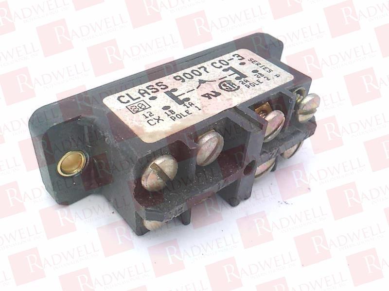 SCHNEIDER ELECTRIC 9007-CO3 0