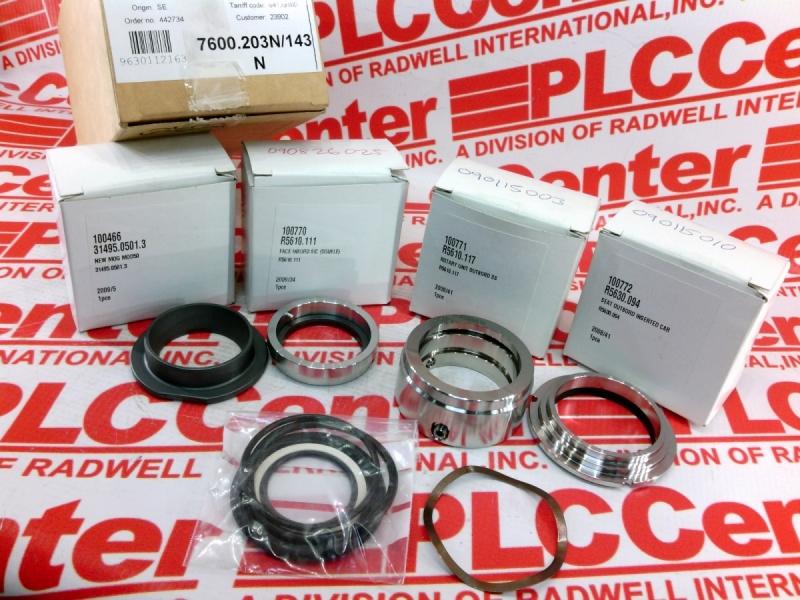 ALFA LAVAL HEAT EXCHANGERS 7600.203N/143N