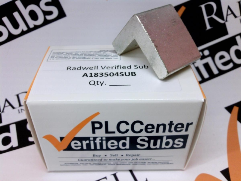 RADWELL VERIFIED SUBSTITUTE A183504SUB