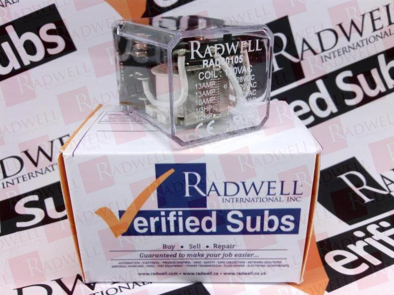 RADWELL VERIFIED SUBSTITUTE HP33-AC115V-SUB