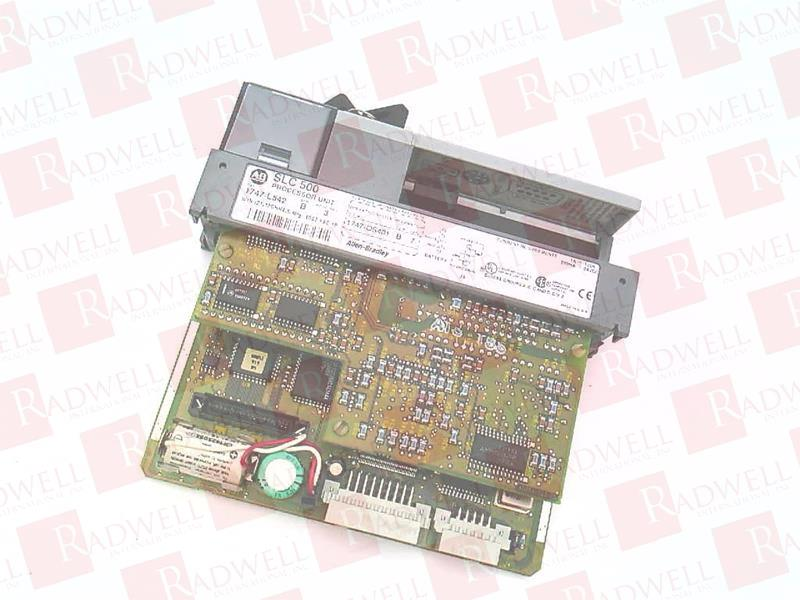 1747-L542 by ALLEN BRADLEY - Buy or Repair at Radwell - Radwell com