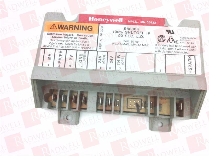 HONEYWELL S8600H3002 BRAND NEW S8600H3002