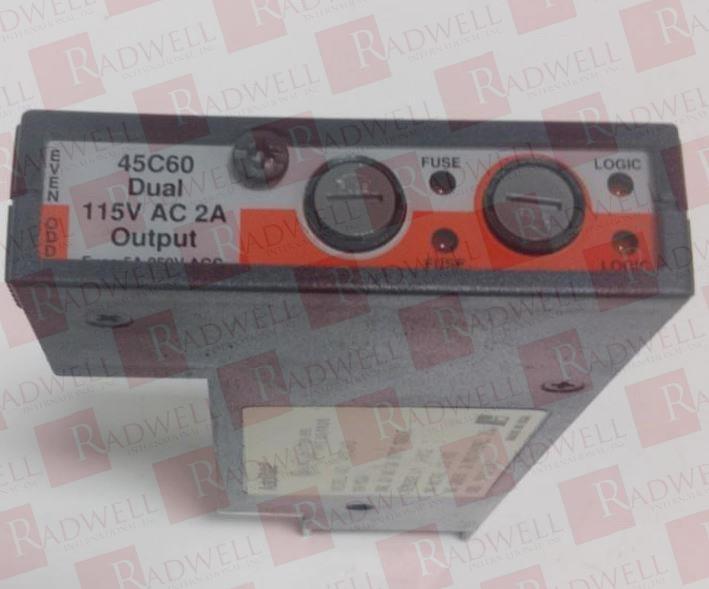 ASEA BROWN BOVERI 45C60 0