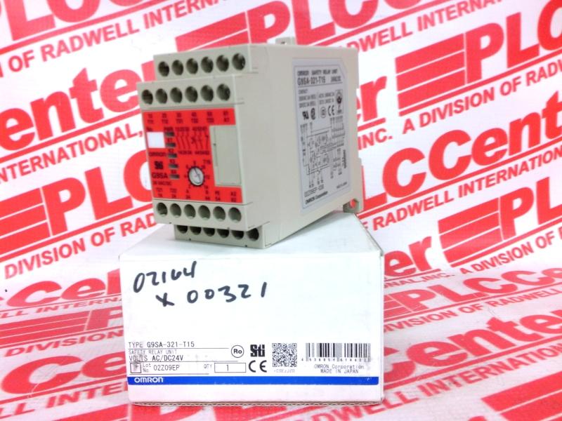OMRON G9SA-321-T15 AC/DC24