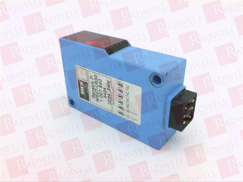 SICK OPTIC ELECTRONIC WS27-U630 0