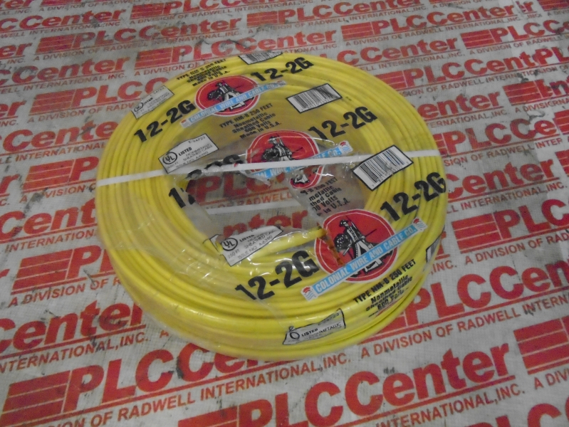 12-2G by COLONIAL WIRE & CABLE - Buy or Repair at Radwell - Radwell.com