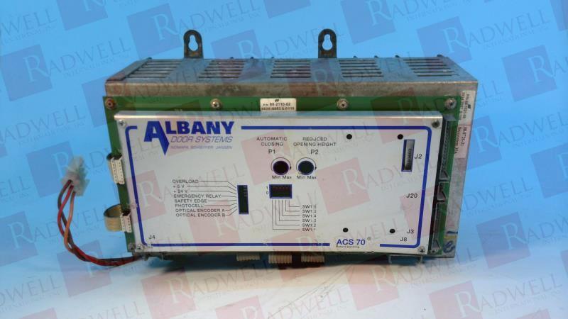 ALBANY DOOR SYSTEMS ACS70-88-1021-06
