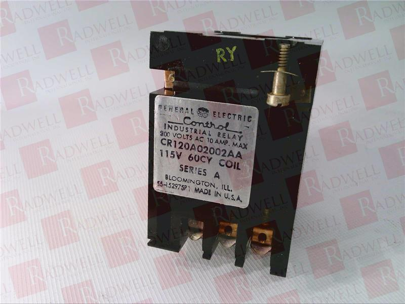 GENERAL ELECTRIC CR120A02002AA