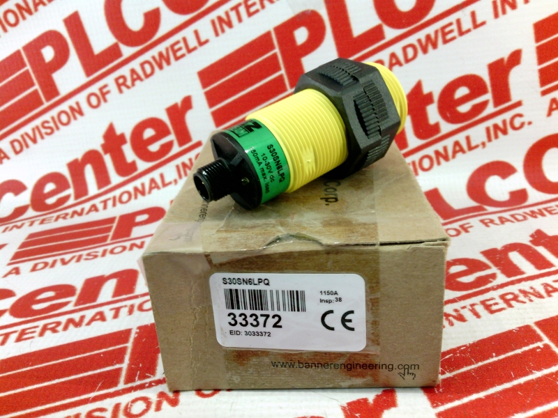 WARRANTY Banner T18 Series T186EQ EZ-BEAM Photoelectric Sensor Used
