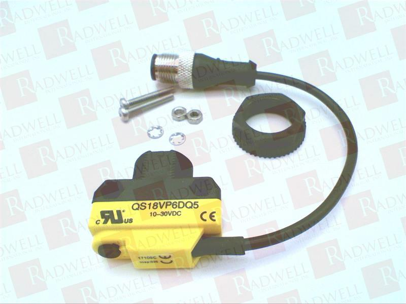 BANNER ENGINEERING QS18VP6DQ5 1
