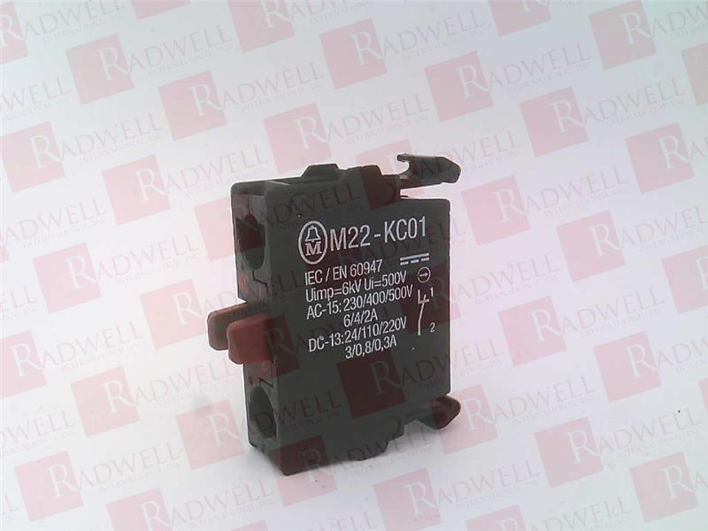 EATON CORPORATION M22-KC01
