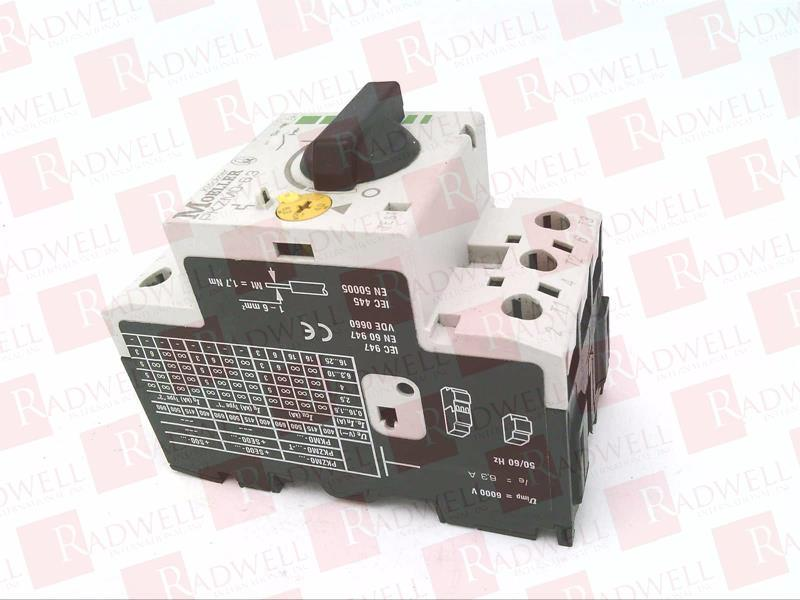 Warranty Klockner Moeller Manual Motor Starter PKZM0-6,3 Used