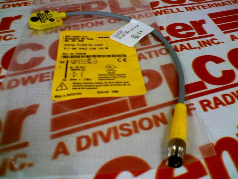 TURCK ELEKTRONIK BI3-Q06-AP6X2-0.2M-PSG3M