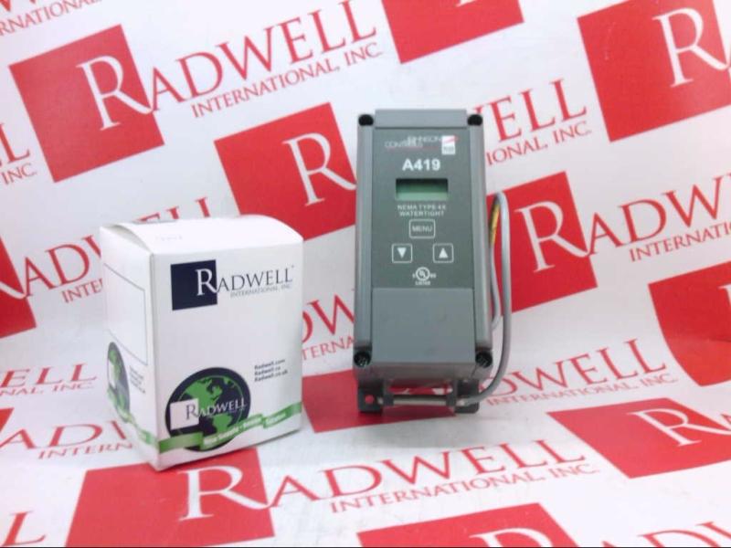 A419GEF-1C by JOHNSON CONTROLS - Buy or Repair at Radwell