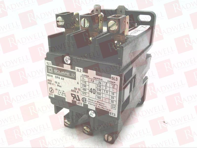 SCHNEIDER ELECTRIC 8910 DPA 43 0