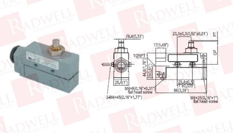 RADWELL VERIFIED SUBSTITUTE E47BLS05-SUB